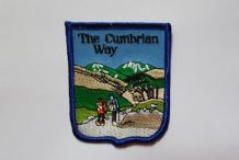 EMBROIDERED PATCH - THE CUMBRIAN WAY A427
